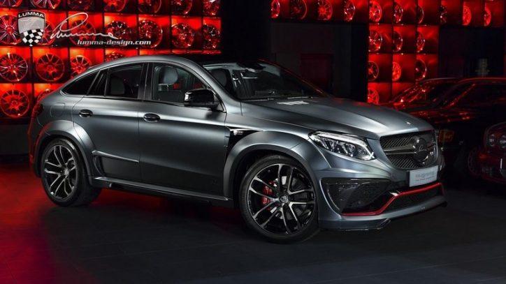 Lumma Design Mercedes Benz Gle Coupe 11