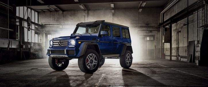 mercedes benz gel ndewagen tackling suv market again. Black Bedroom Furniture Sets. Home Design Ideas