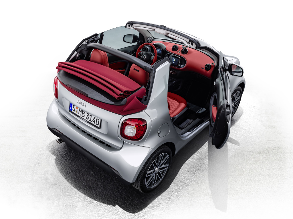 top 5 important stuff about the smart fortwo brabus edition 2. Black Bedroom Furniture Sets. Home Design Ideas