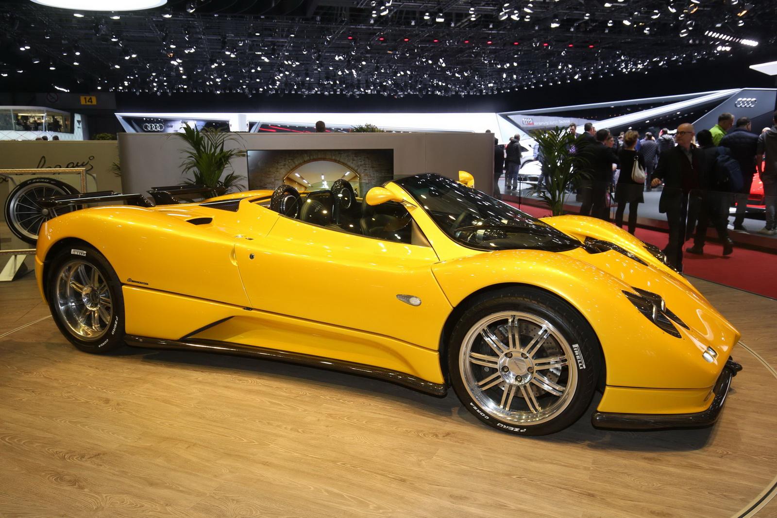 Pagani Huayra Price >> Pagani Huayra Roadster Makes Its World Premiere in Geneva