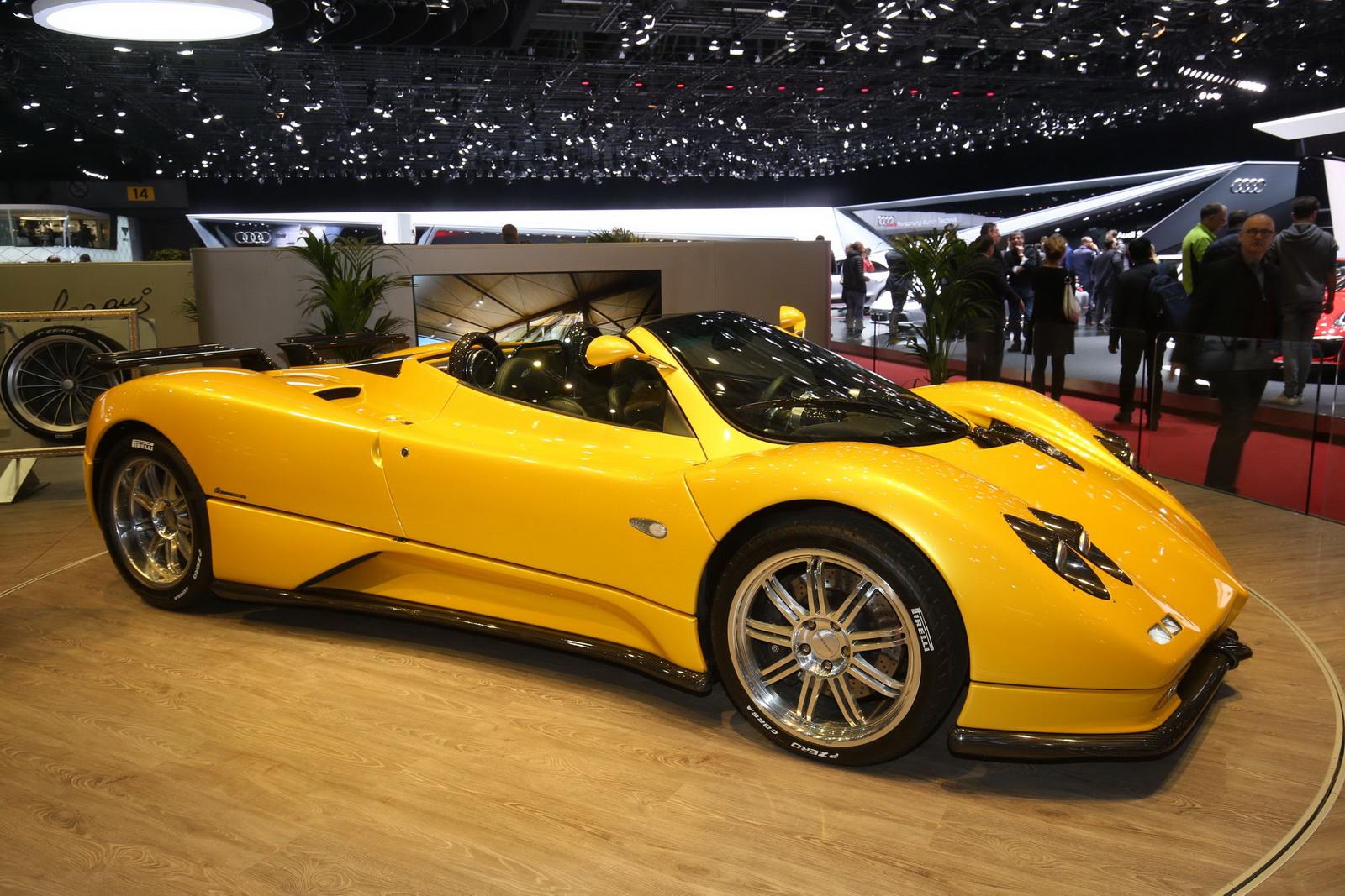 Pagani Huayra Bc Price >> Pagani Huayra Roadster Makes Its World Premiere in Geneva