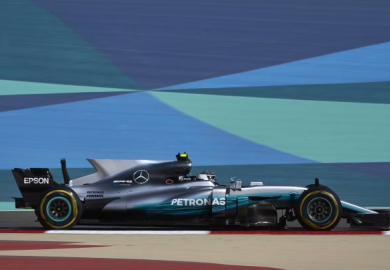 Valtteri Bottas pole position Bahrain Grand Prix