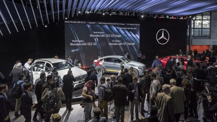 Mercedes-Benz auf der New York International Autoshow 2017