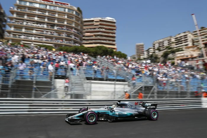 Mercedes struggles at Monaco