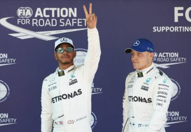 Spanish GP - Lewis Hamilton takes pole position
