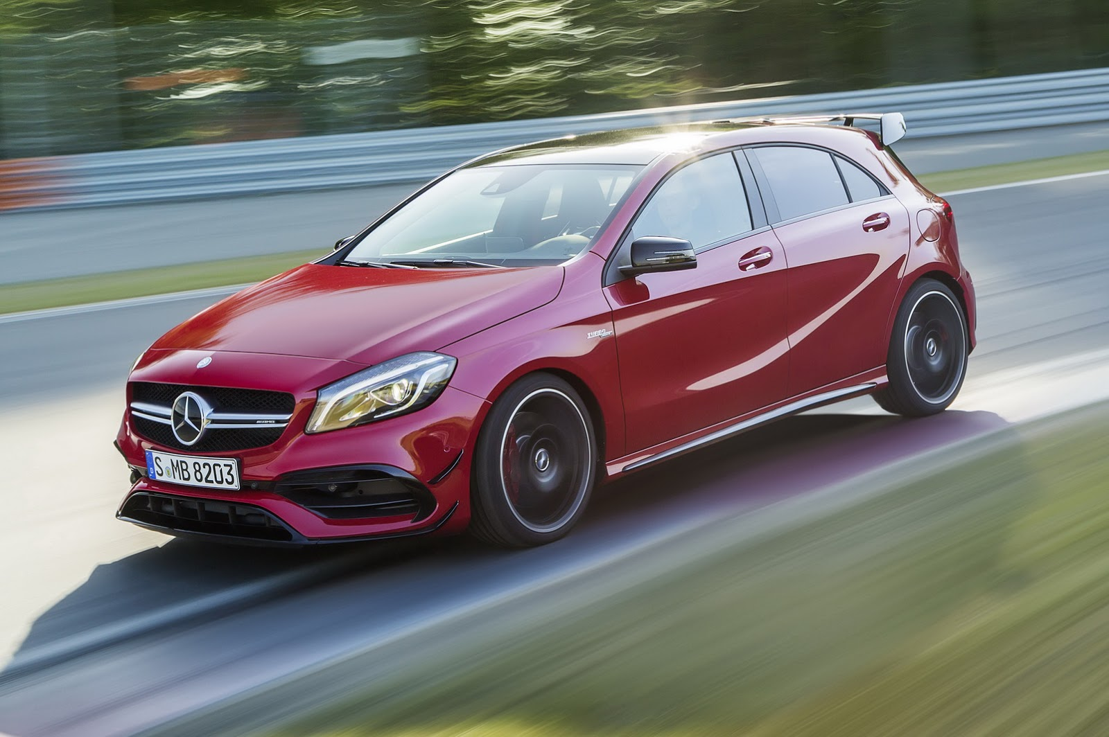 5 Exciting Things Revealed About The Next Mercedes Amg A45