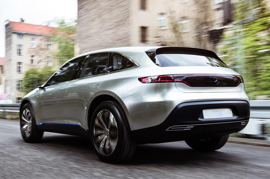 Mercedes benz concept eq a mercedes for Mercedes benz concept eq