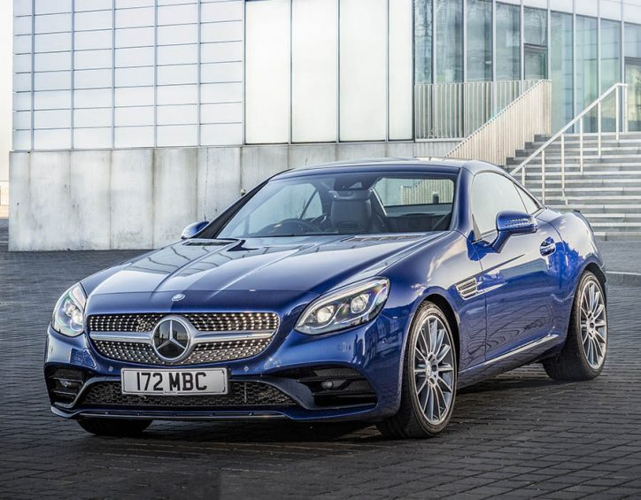 Top 3 things to love in the new mercedes benz slc 180 for Mercedes benz top of the line