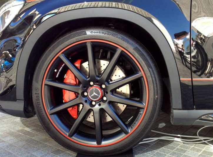 what kind of tyres should you use on a mercedes benz