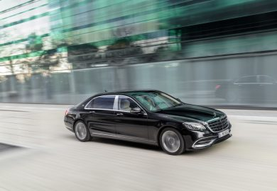 The new Mercedes-Maybach S-Class.