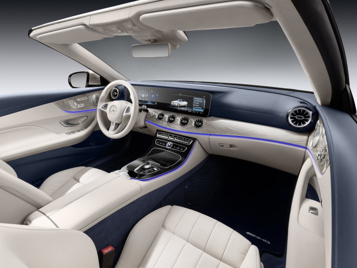 A Look at the Mercedes-Benz E-Class Cabriolet Interior