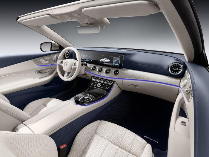 mercedes-benz e-class cabriolet interior (1)