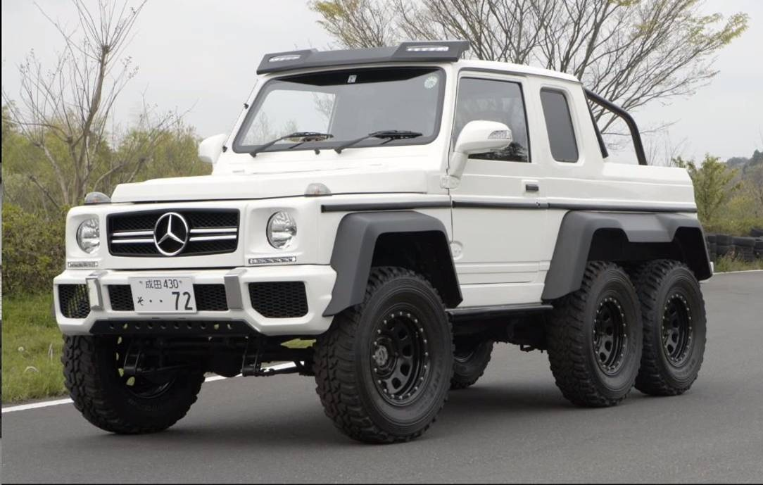 here 39 s the mercedes benz g63 amg 6x6 clone based on suzuki jimny. Black Bedroom Furniture Sets. Home Design Ideas