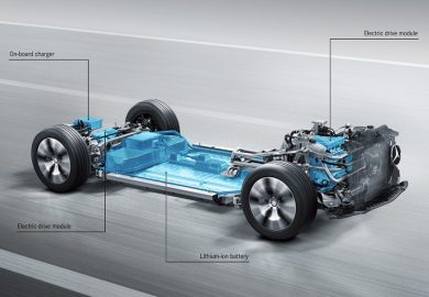 The Mercedes-Benz modular electric platform for the EQA.