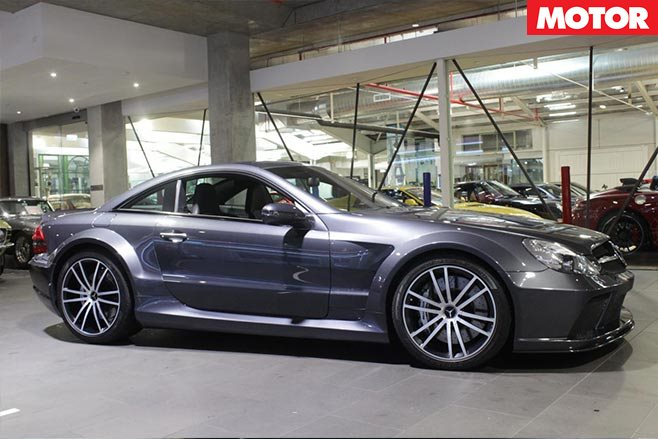 2009 Mercedes Benz Sl65 Amg Black Series For Sale