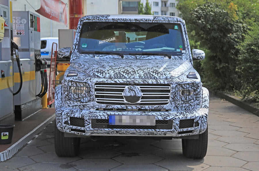 more 2018 mercedes benz g class spy shots show up. Cars Review. Best American Auto & Cars Review