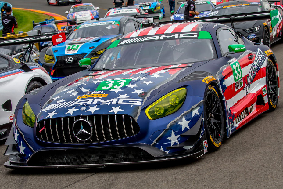 Mercedes Amg Gt3 Gets New Livery Commemorating Fourth Of July