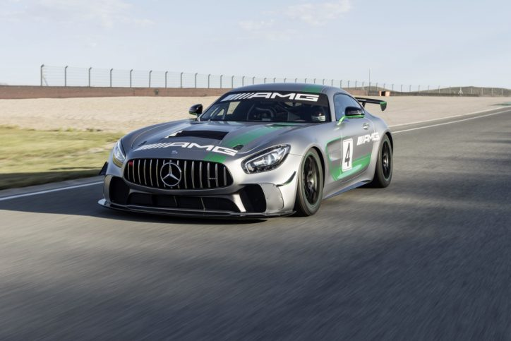 Track-only Mercedes-AMG GT4 unveiled