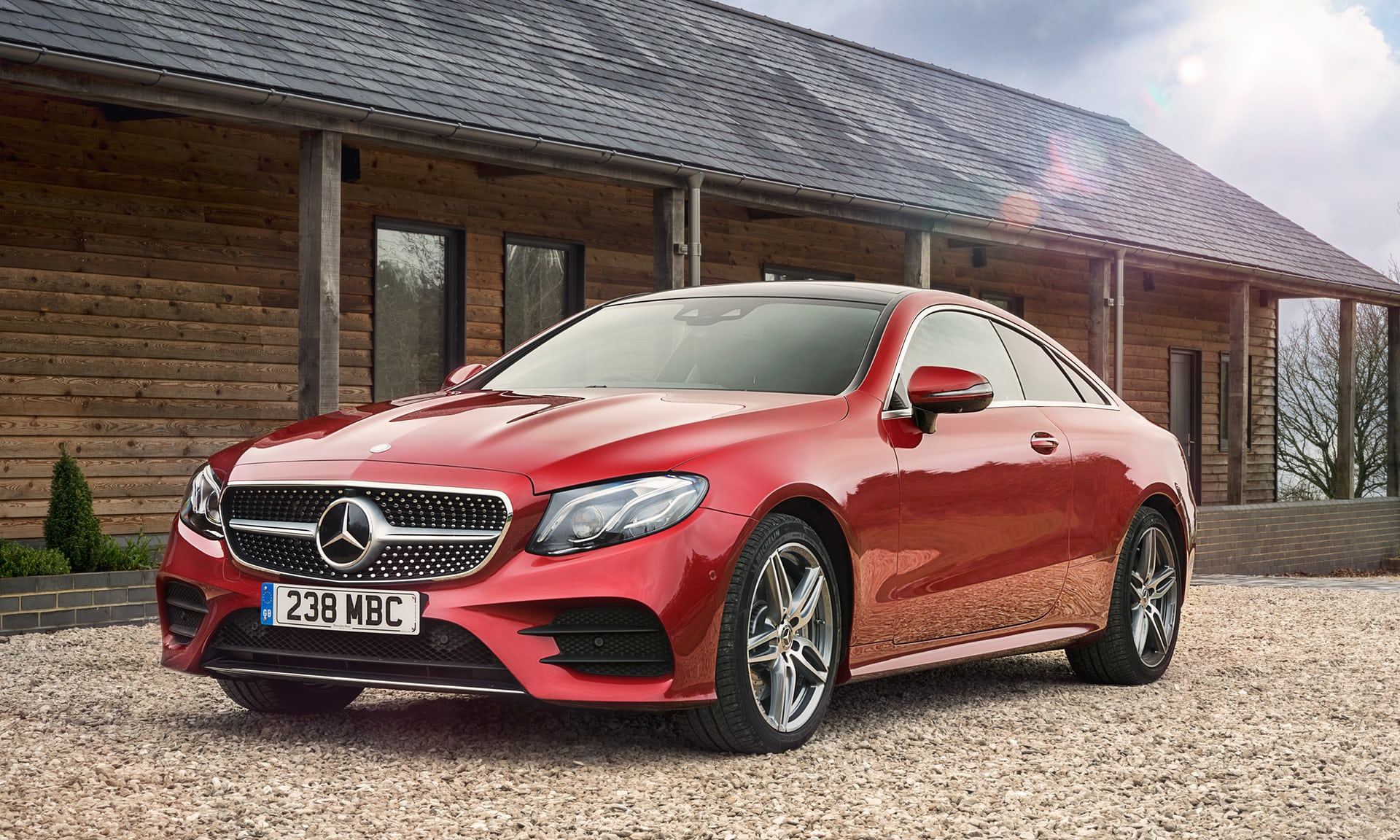 Mercedes benz e300 coupe is superb but with an awkward climb for Mercedes benz e300 amg