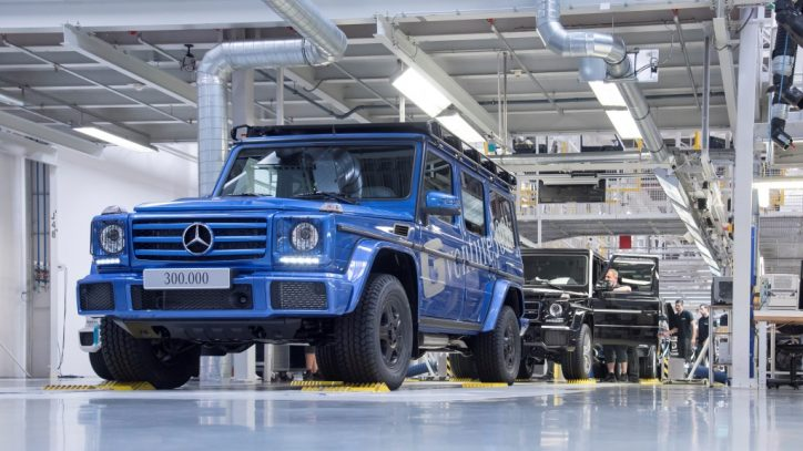 Three Mercedes-Benz G-Class Models To Be Axed