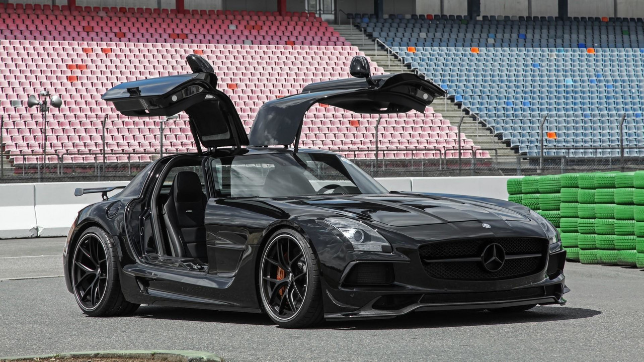 Mercedes Benz Certified Pre Owned >> Mercedes-Benz SLS AMG Black Series Upgraded by Inden Design