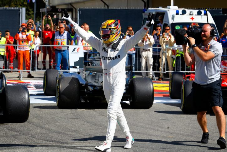 Lewis Hamilton lost for words after claiming record 69th pole