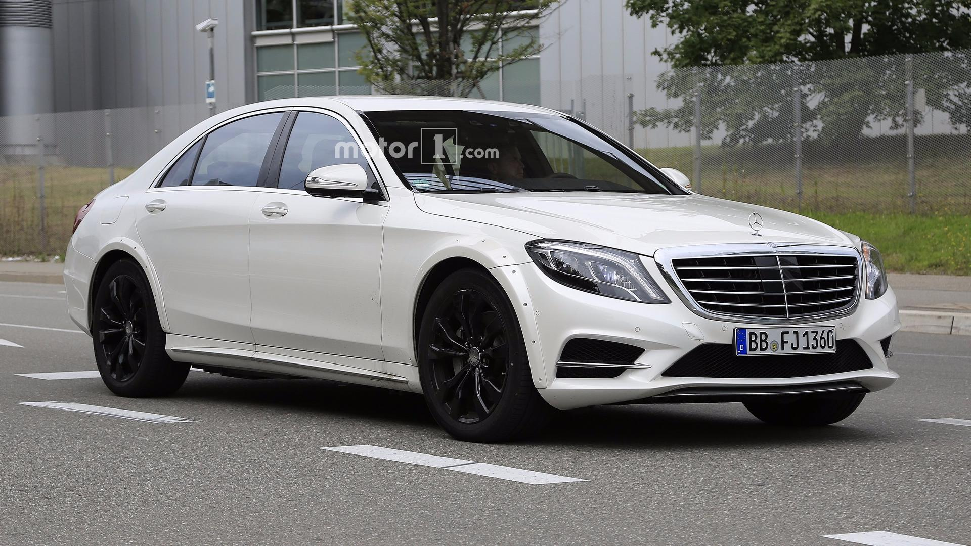 S Class Coupe >> 2021 Mercedes-Benz S-Class Test Mule Spotted