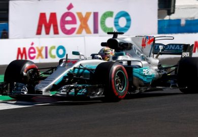 Hamilton P3 at Mexico GP