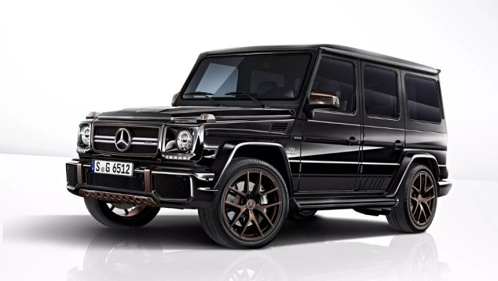 Mercedes released the final version of G-Wagen