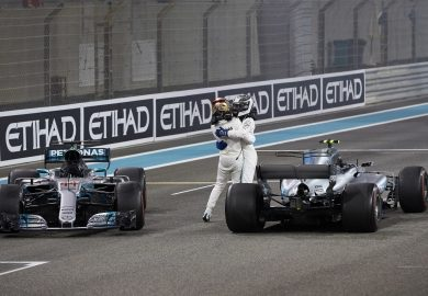 Bottas ends 2017 F1 season with win at Abu Dhabi GP