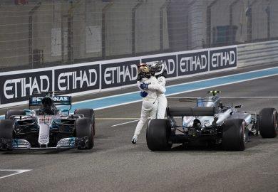 Bottas ends 2017 F1 season with win at Abu Dhabi GP