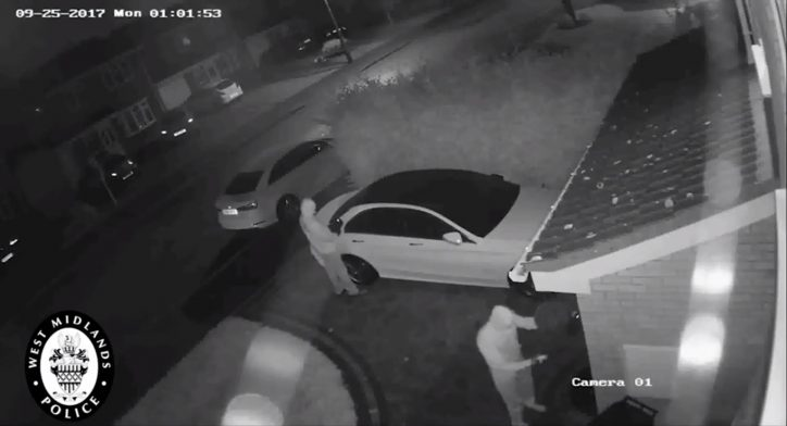 Auto thieves still vehicle without keys using signal relay boxes