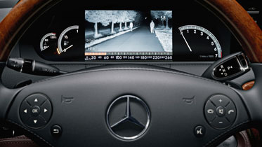 Top 3 mercedes benz technology features for you for Mercedes benz night vision