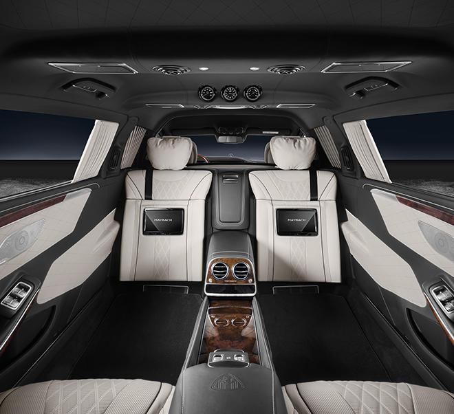 4 Reasons Why The Mercedes-Maybach S600 Pullman Guard Is