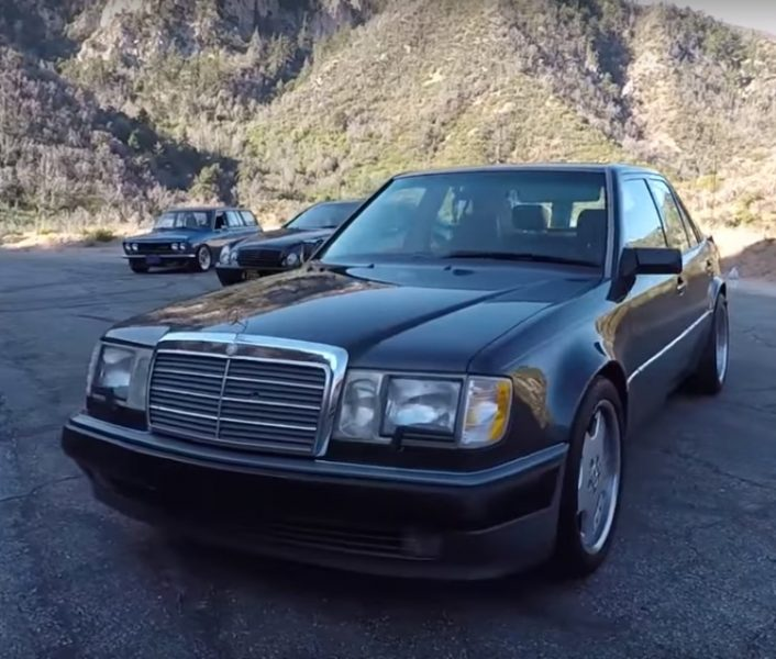 This 1993 mercedes benz 500e has aged gracefully for 1993 mercedes benz 500 class