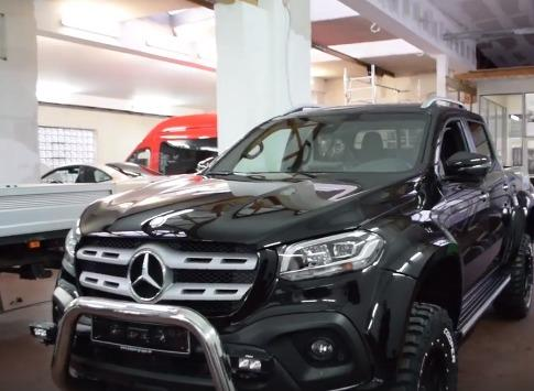Mercedes Benz X Class Given A Widebody Makeover By Delta4x4
