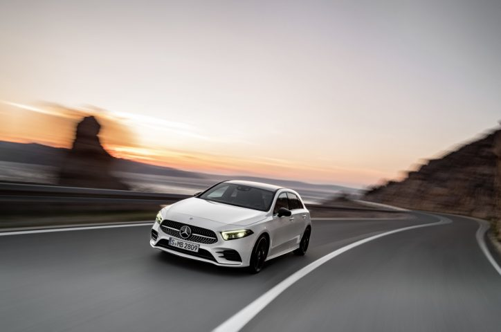 World Premiere of the new Mercedes-Benz A-Class Highlights Report
