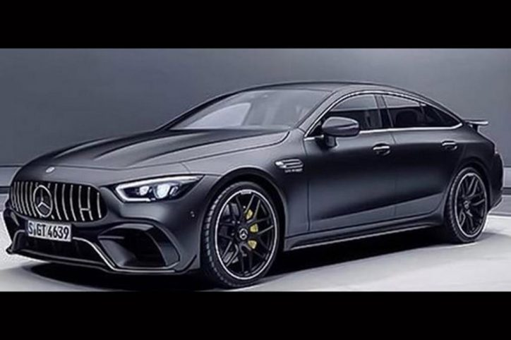 Mercedes AMG GT 4 Door Coupe