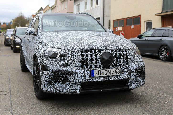 Up Close With The Upcoming Mercedes Amg Gle63 Suv