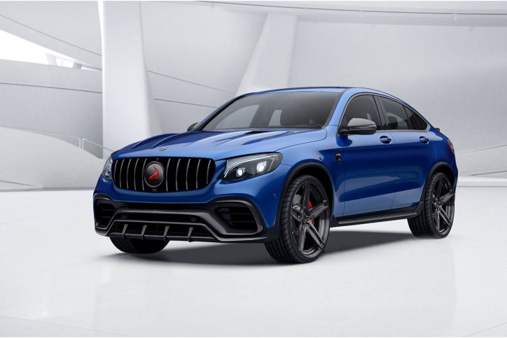 ing soon topcar mercedes benz glc coupe inferno Mercedes-Benz SLK230 topcar a famous russian aftermarket tuning pany just revealed its new project for the mercedes benz glc coupe through some teaser photos