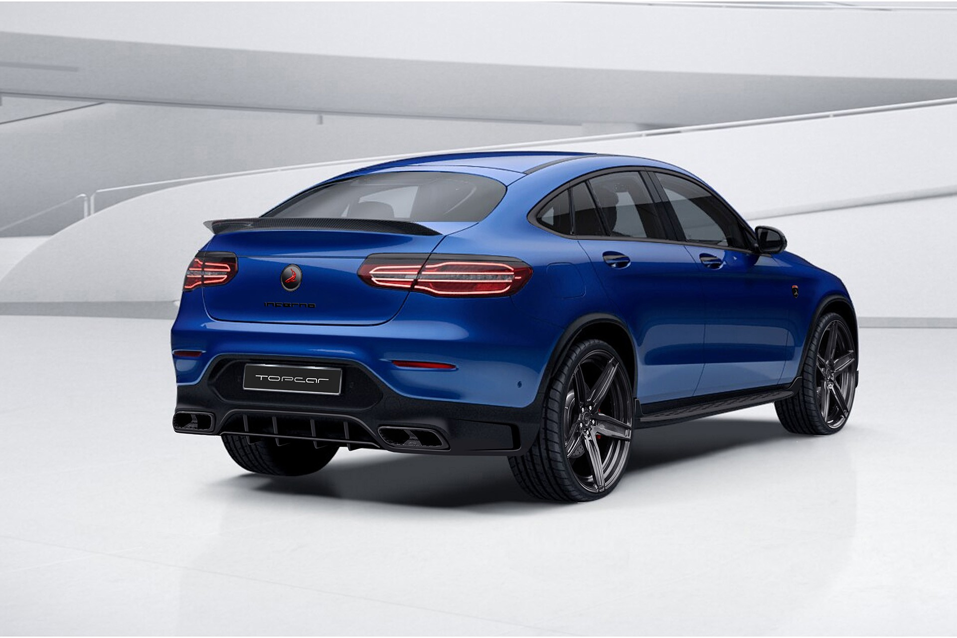 Coming soon topcar mercedes benz glc coupe inferno for Glc mercedes benz