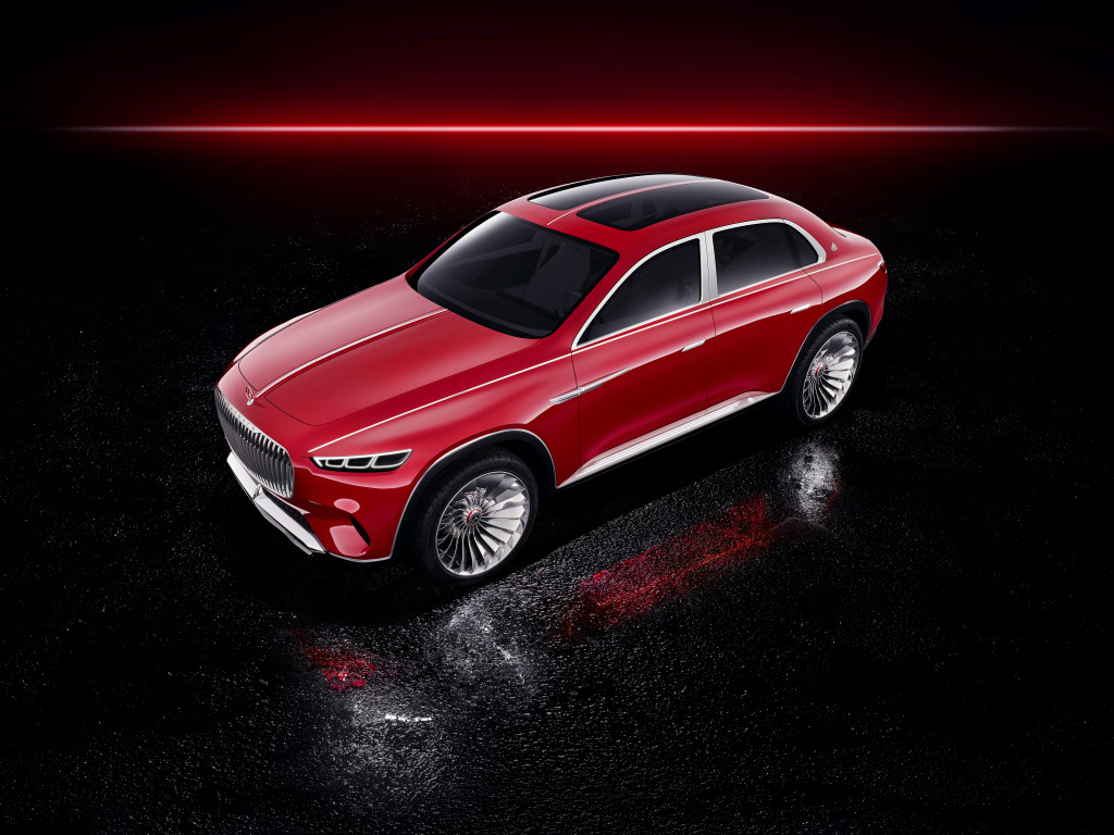 Vision Mercedes-Maybach Ultimate Luxury, Auto China 2018 - BenzInsider.com - A Mercedes-Benz Fan ...