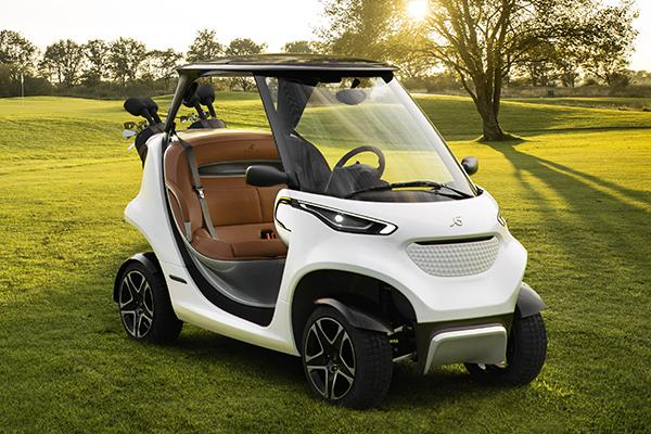 Mercedes inspired garia golf car is more expensive than for How much is the mercedes benz golf cart