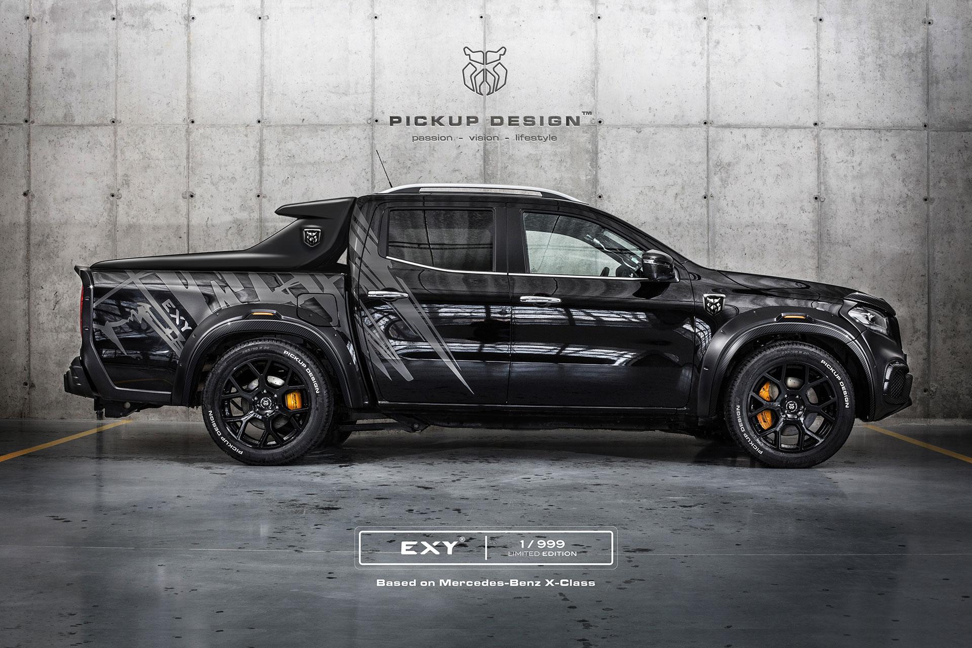 wild custom mercedes benz x class spotted. Black Bedroom Furniture Sets. Home Design Ideas