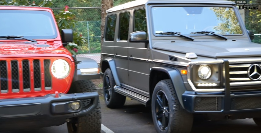 Why The Mercedes Benz G Class Is Better Than The New Jeep