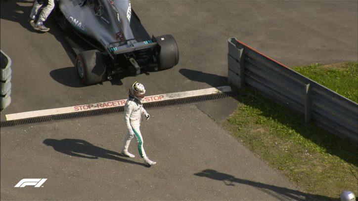 Hamilton retires from 2018 Austrian GP