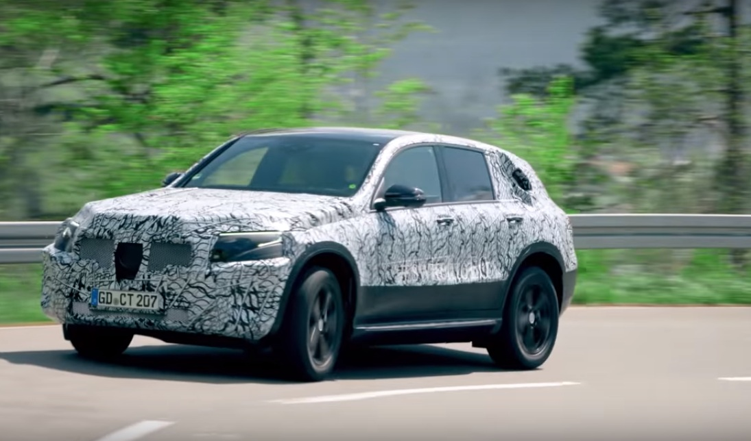 Watch the Black Forest Testing of the Mercedes-Benz EQC