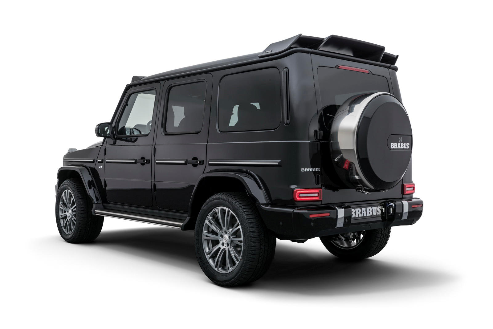 brabus tunes the 2019 mercedes benz g class to nearly 500 hp. Black Bedroom Furniture Sets. Home Design Ideas