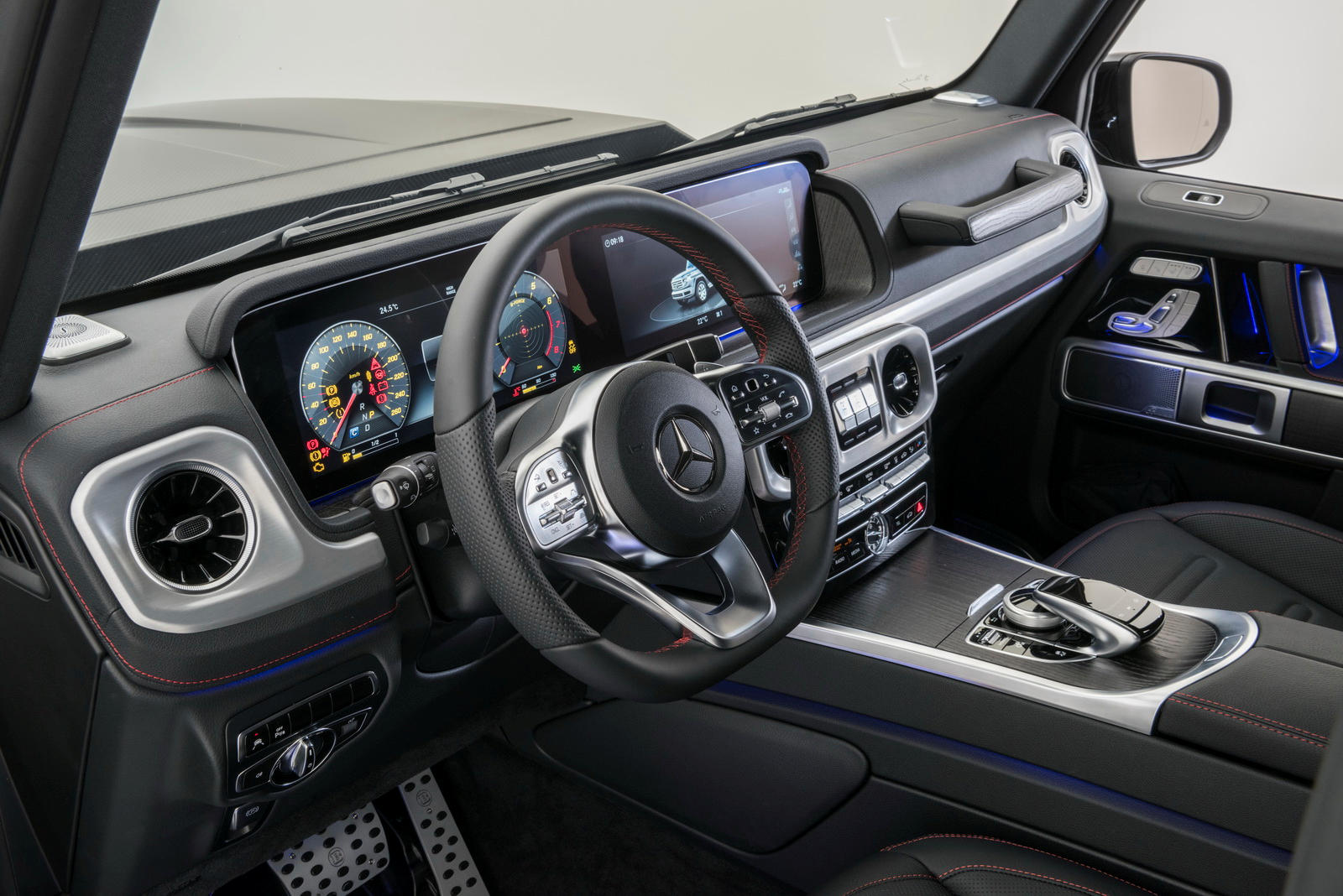 brabus tunes the 2019 mercedes benz g class to nearly 500 hp