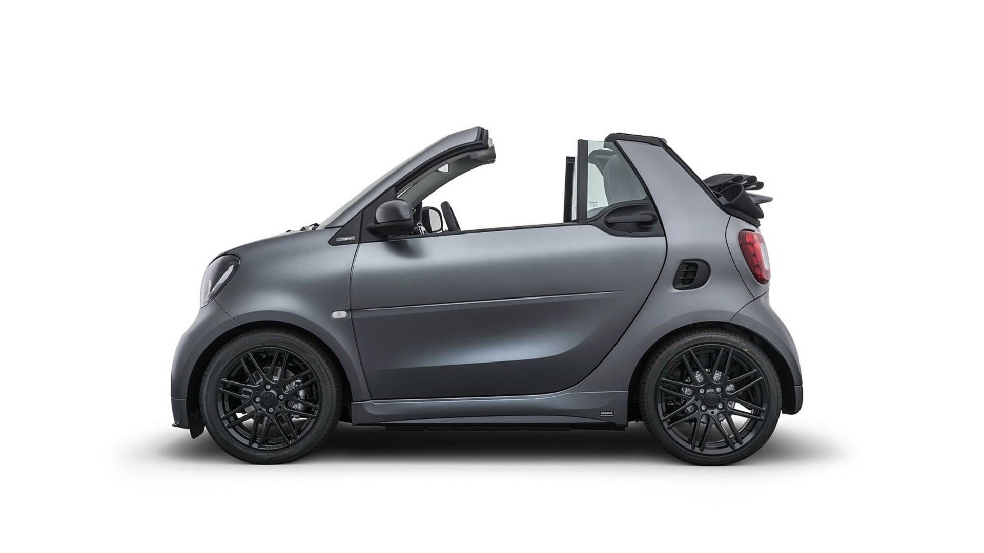 exclusive brabus 125r package released for the smart. Black Bedroom Furniture Sets. Home Design Ideas